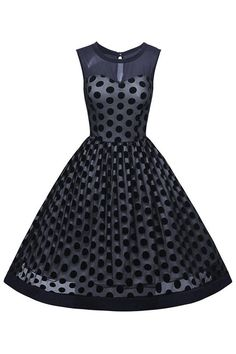 Get your very own Atomic Vintage Rockabilly Polka Dot Mesh Swing Dress now: https://atomicjaneclothing.com/products/atomic-vintage-rockabilly-polka-dot-print-mesh-swing-dress-1