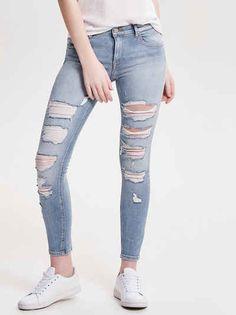 Only Carmen Reg Knöchel Skinny Fit Jeans Stilsicher, Bekleidung, Skinny Fit  Jeans fe5776056c
