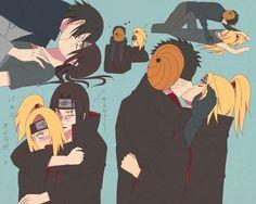 Love this *-* ~ Sasuke x Itachi Itachi x Deidara Deidara x Tobi