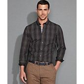 Tommy Hilfiger Shirt, Long Sleeve Slim Fit Camlin Shirt