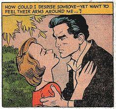 Comics Vintage, Vintage Comic Books, Comic Books Art, Comic Art, Comics Love, Comics Girls, Dc Comics, Vintage Pop Art, Romance Comics
