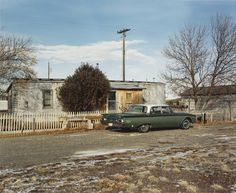 When the facility was established, Idaho's Atomic City—previously known as Midway—boomed, and the population was in the hundreds. When David T. Hanson photographed it, however, in December 1986, it was nearly deserted.