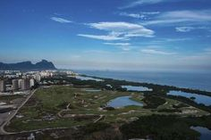 Campo de golfe, localizado na zona oeste do Rio