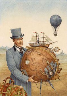 Lev Kaplan y su set dedicado a Julio Verne.