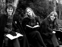 Emma Watson, Daniel Radcliffe and Rupert Grint like Hermione Granger, Harry Potter and Ron Weasley