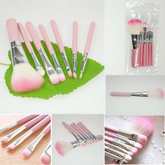 7 Pcs Professional Cosmetic Makeup Brush Tool | Opovoo Online Shop