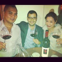 Argiolas wine tasting Hong Kong: Antonio Argiolas in the Goccia Wine Bar & Restaurant