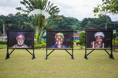 The Obrigado Exhibition on the Island of Sao Tome & Principe...