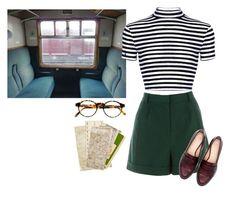 """Train ride"" by samarayared on Polyvore"