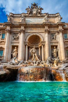 Rome Italy is one of the most popular traveler destinations in the European Union It is the capital city of Italy Rome Italy Photography. Rome Italy is one of the most p The Places Youll Go, Places To Go, Beautiful World, Beautiful Places, Trevi Fountain, Travel Aesthetic, Rome Italy, Belle Photo, Dream Vacations