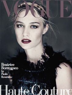 Haute Couture. Beatrice Borromeo - Vogue.it