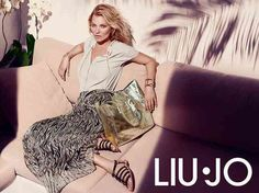 cool Kate Moss for Liu Jo Spring/Summer 2015 Campaign