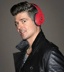 Robin Thicke, was seen as an icon last year with one of the best pop songs in the world last year. Would that make Beats look cooler because Robin Thicke is wearing them?