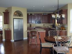 Sherwin Williams Sw6128 Blonde Wall Color This Is My Wall Color In The Kitchen Living Entry