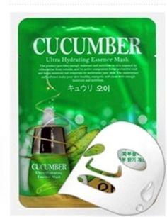 EKEL Natural Beauty Cucumber Ultra-Hydrating Facial Mask Sheet Pack 1PCS KBeauty #EKEL