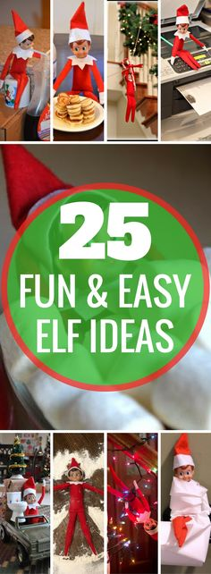 BEST Elf On The Shelf Ideas! Creative, fun, arrival ideas, and ideas for moving your Christmas Elf. Holiday activities for kids. Over a month of Elf ideas!   Elf on a shelf   Christmas Traditions   Elf activities   Naughty Elf   Holiday Season   Christmas ideas