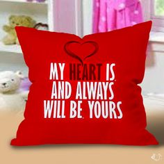 Always Love You  Valentine Pillow Cases