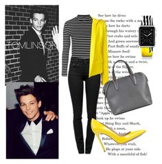 """""""Louis Tomlinson Style"""" by lialondon ❤ liked on Polyvore featuring Topshop, Proenza Schouler, Gianvito Rossi, Alexandre Vauthier, Valextra and Casetify"""