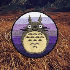My Neighbor Totoro Patch Free Shipping US por ForTheLoveOfPatch