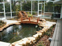 japanese koi ponds | Creating Koi Fish Pond Tips Great Japanese Koi Fish Pond Style Art ...