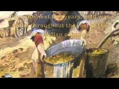 Our country - Video summary of Events leading to the Australian Gold Rush Revision Games, Eureka Stockade, Gold Rush, Gold Gold, Teaching History, Teaching Resources, First Fleet, Gold Prospecting, National Curriculum