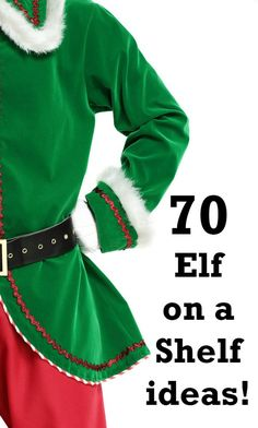 70 amazing Elf on a Shelf ideas to keep you going until your elf leaves on Christmas Eve. 70 Elf on a shelf ideas. Christmas Eve Traditions, Its Christmas Eve, Christmas Planning, Christmas Gift Guide, Family Traditions, All Things Christmas, Christmas Holidays, Christmas Crafts, Christmas Ideas