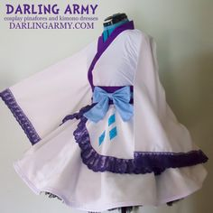 Rarity My Little Pony MLP Cosplay Skirt Kimono Dress Wa Lolita Accessory | Darling Army