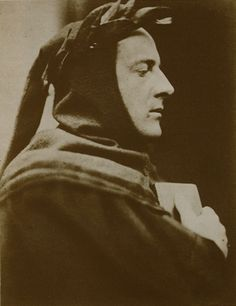 "John Everett Millais as Dante. Wynfield's importance in the history of photography lies in his influence on Julia Margaret Cameron - the only influence, in fact, that she was ""prepared to acknowledge""."