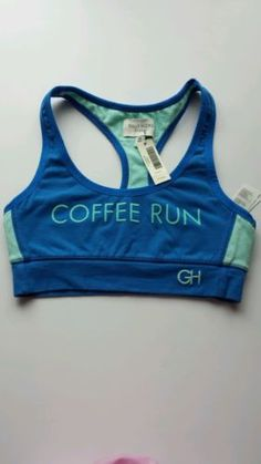 6dbec232c1f74 Gilly hicks COFFEE RUN sports bra Gilly Hicks Yoga Bra