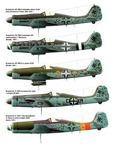 Focke-Wulf evolution: Fw to Ww2 Aircraft, Fighter Aircraft, Military Aircraft, Luftwaffe, Focke Wulf 190, Air Fighter, Aircraft Painting, Ww2 Planes, Aircraft Design