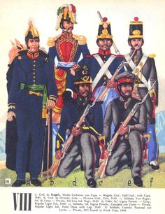 View topic - Soldados: Their Uniforms & Weapons. Mexican Army, Mexican American War, Native American History, American Civil War, Military Costumes, Military Uniforms, Army Uniform, Military Art, Military History
