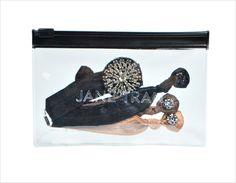Jeweled Hair Tie Mini Gift Bag