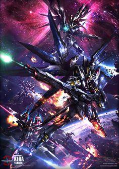 Fan Art gundams from Mobile Suit Gundam Seed Destiny anime. Arte Gundam, Gundam 00, Gundam Wing, Gundam Seed, Anime Manga, Anime Art, Manga Girl, Anime Girls, Gundam Wallpapers