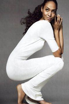 "Joan Smalls,  in ""Bodies of Work"", Vogue magazine's April 2011 ♥  ♥ ✿ Ophelia Ryan✿♥ 💋"