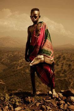 Ethiopian Men Clothing | ... go to school are required to wear uniforms instead of tribal clothes
