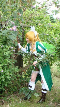 La cosplayeuse Pyrrha en Leafa de Sword Art Online (animé)  Découvrez sa page => https://www.facebook.com/pages/Pyrrha-Cosplay/240979266110224  Son Deviant Art => http://megalie.deviantart.com/