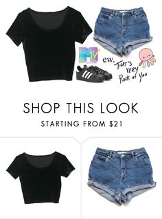 """Untitled #2034"" by chill-outfits ❤ liked on Polyvore featuring adidas"