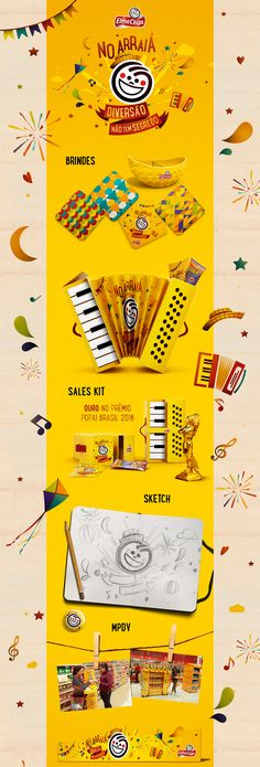 Festa Junina Elma Chips on Behance