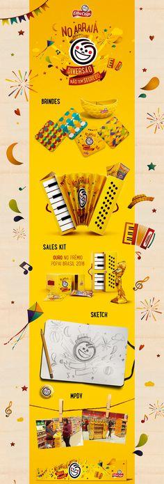 Festa Junina Elma Chips on Behance
