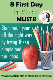 your year easier by rolling out your rules, routines, and procedures in an exciting way! Get to know your students starting from the first day of school by trying these eight tried and true activities! 1st Day Of School, Beginning Of The School Year, School Fun, School Ideas, School Stuff, School 2017, Middle School, School Projects, Back To School Art