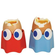 pac-man ghost egg cups