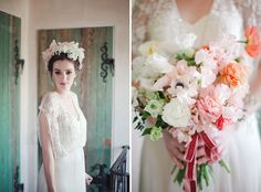 Spring Inspiration with BHLDN + Pretty Flowers
