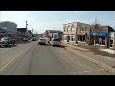 Ride Through Downtown Shediac - YouTube
