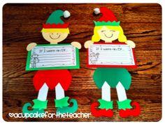 A Cupcake for the Teacher: A Little Elf Magic!