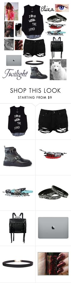 """""""Twilight OC"""" by foxydeadpool ❤ liked on Polyvore featuring Melissa McCarthy Seven7, Boohoo, Hot Topic, McQ by Alexander McQueen, Humble Chic and plus size clothing"""