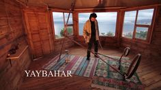 Yaybahar, an electric-free, totally acoustic instrument designed by by Görkem Şen. Video by Olgu Demir.
