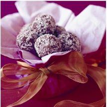 Chocolate Rum and Raisin Balls