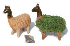 Grow your own llama cress figure: Amazon.co.uk: Kitchen & Home