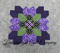 # 69 option 1 Patchwork of the Crosses  Block kit  69 by FeatherweightQuiltCo