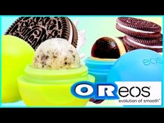 DIY OREO EOS Lip Balm! Out Of REAL OREOS?! Lip balm & Lip Scrub - YouTube